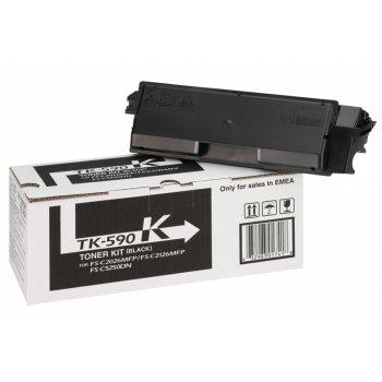 Заправка картриджа Kyocera TK-590K черный