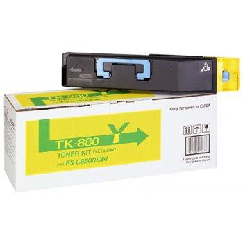 Заправка картриджа Kyocera TK-880Y желтый