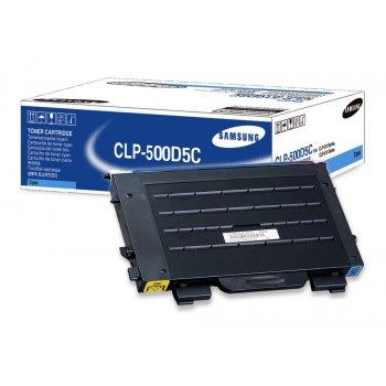 Заправка картриджа Samsung CLP-500D5C голубой