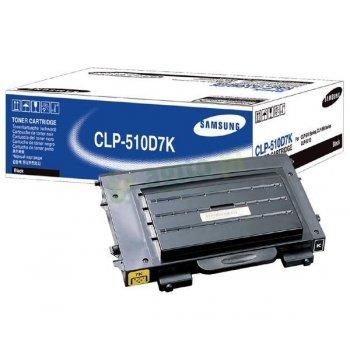 Заправка картриджа Samsung CLP-510D7K черный