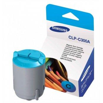 Заправка картриджа Samsung CLP-C300A голубой
