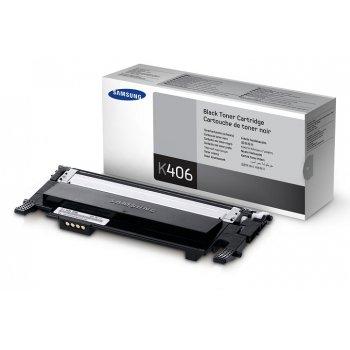 Заправка картриджа Samsung CLT-K406S черный