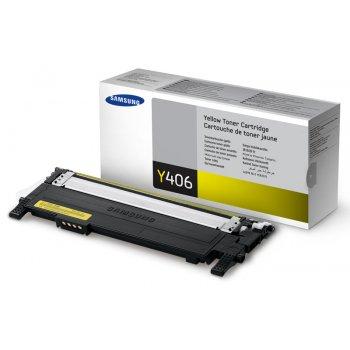 Заправка картриджа Samsung CLT-Y406S желтый