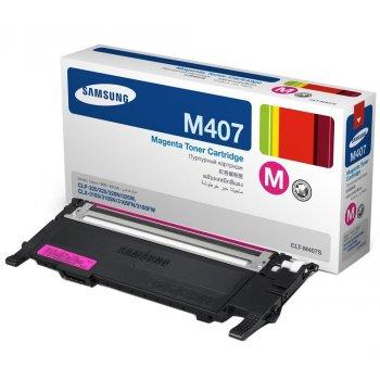 Заправка картриджа Samsung CLT-M407S  красный