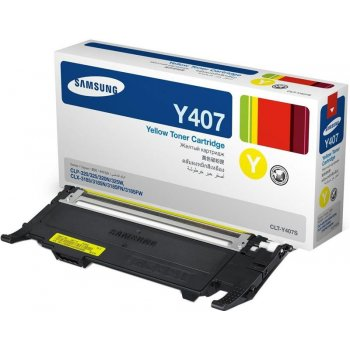 Заправка картриджа Samsung CLT-Y407S желтый