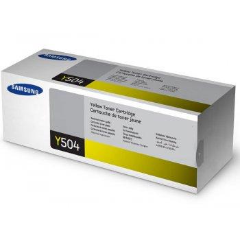 Заправка картриджа Samsung CLT-Y504S желтый