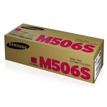 Заправка картриджа Samsung CLT-M506S красный