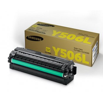 Заправка картриджа Samsung CLT-Y506L желтый