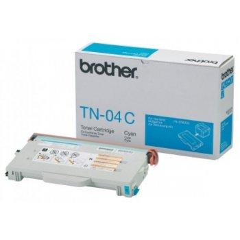 Картридж оригинальный Brother TN-04C синий