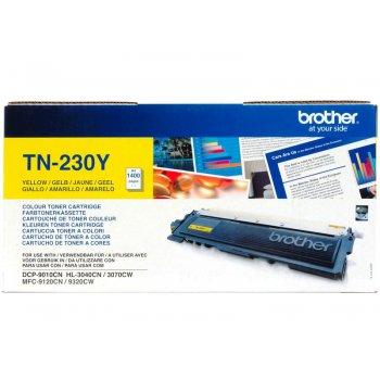 Картридж оригинальный Brother TN-230Y желтый