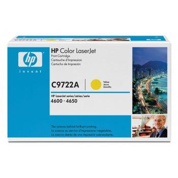 Картридж оригинальный HP C9722A желтый