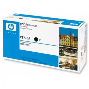 Картридж оригинальный HP C9730A черный