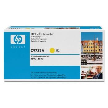 Картридж оригинальный HP C9732A желтый