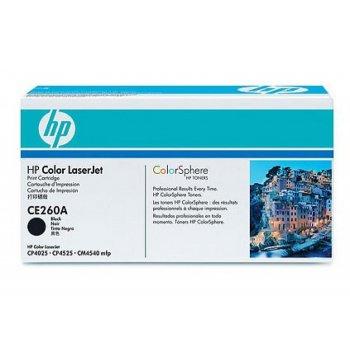 Картридж оригинальный HP CE260A черный