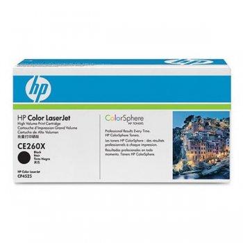 Картридж оригинальный HP CE260X черный