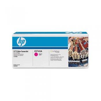 Картридж оригинальный HP CE743A красный