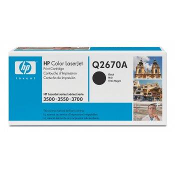 Картридж оригинальный HP Q2670A черный