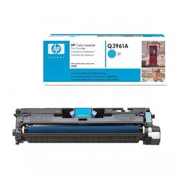Картридж оригинальный HP Q3961A голубой