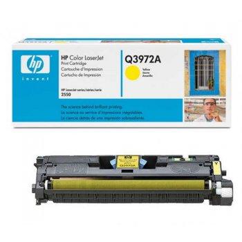 Картридж оригинальный HP Q3972A желтый