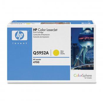 Картридж оригинальный HP Q5952A желтый