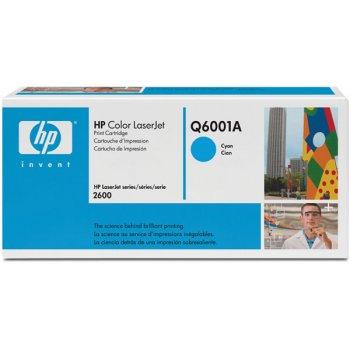 Картридж оригинальный HP Q6001A голубой