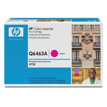 Картридж оригинальный HP Q6463A красный