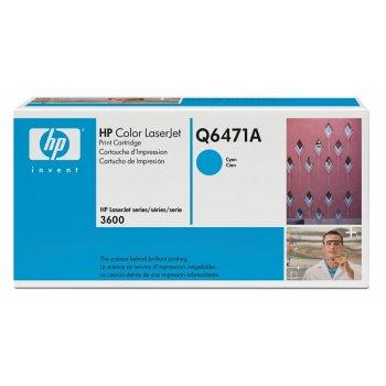 Картридж оригинальный HP Q6471A голубой