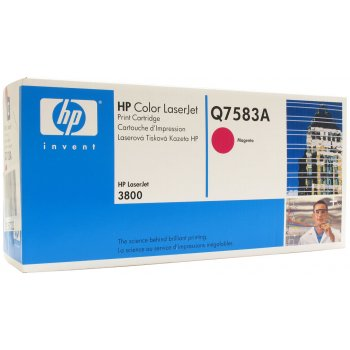 Картридж оригинальный HP Q7563A красный