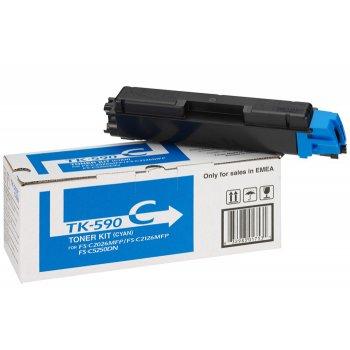 Картридж оригинальный Kyocera TK-590C синий
