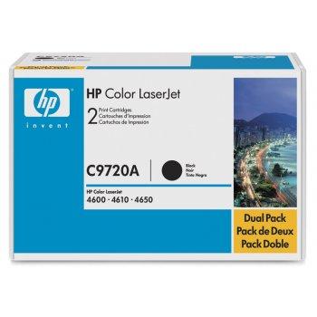Картридж совместимый HP C9720A черный