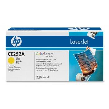 Картридж совместимый HP CE252A желтый
