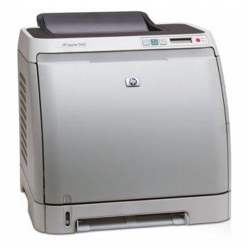 Заправка принтера HP Color LaserJet 2600