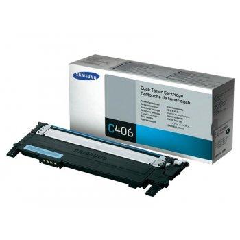 Картридж совместимый Samsung CLT-C406S голубой