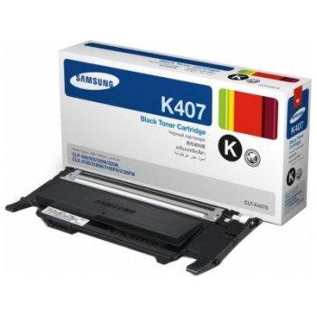 Картридж совместимый Samsung CLT-K407s черный